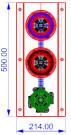 semaforo-2-1-lamp